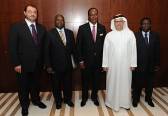 Foreign Minister Samura Kamara discusses bilateral issues with UAE
