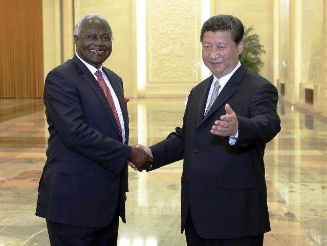 PRESIDENT AND CHINESE LEADER