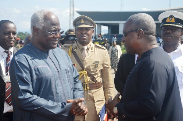 PRESIDENT KOROMA AND MAHAMA