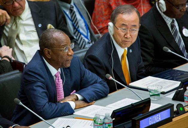 UN SEC.GEN ADDRESSING EBOLA HIGH-LEVEL