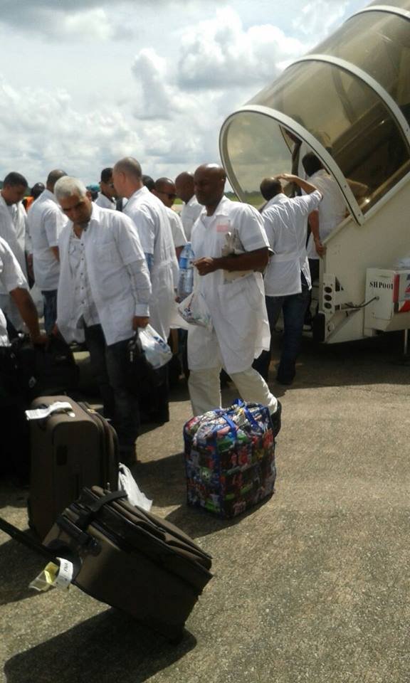 CUBAN DOCTORS ARRIVE 1