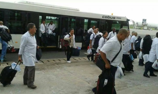 CUBAN DOCTORS ARRIVE 2