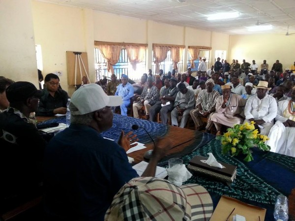 PRESIDENT KOROMA ENGAGES CHIEFS 1