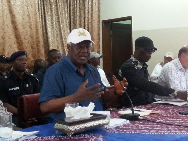 PRESIDENT KOROMA GOES TOUGH