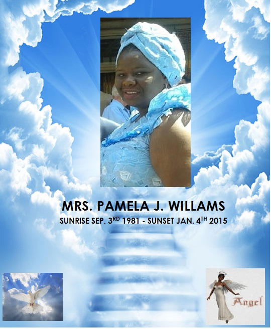Pamela William RIP Pic