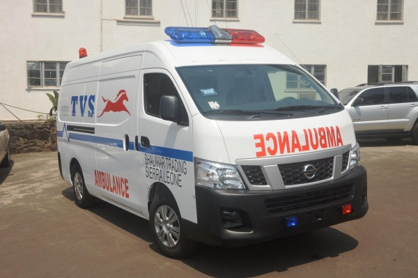 AMBULANCE DONATED 2