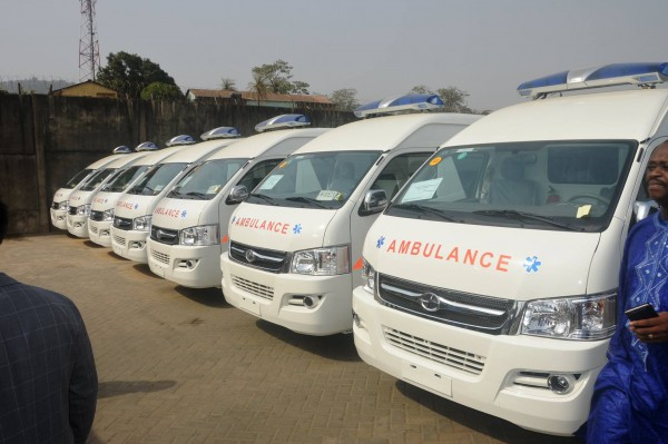 CHINESE AMBULANCES 1