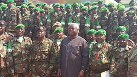 SIERRA LEONE ARMY BUOYED