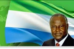 OFFICIAL PHOTO OF ERNEST KOROMA