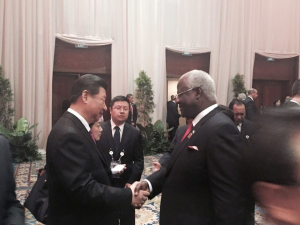 SUPREMO ATTENDS AFRICA-ASIA SUMMIT 1