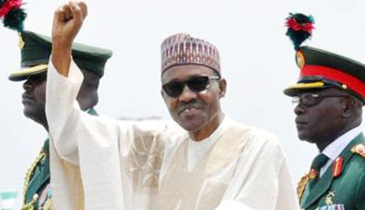 buhari sworn in 2