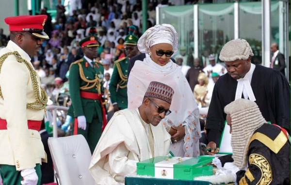 buhari sworn in 3