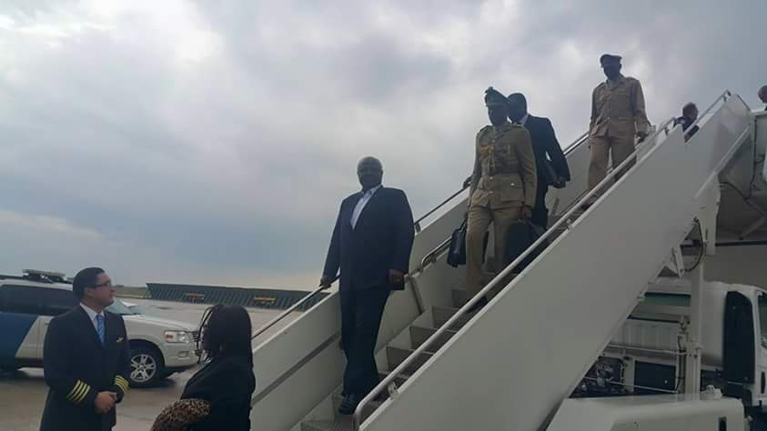 PRESIDENT ARRIVES IN NEW YORK