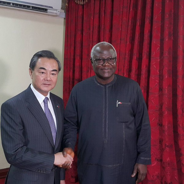 CHINA,SIERRA LEONE DEEPEN RELATIONS