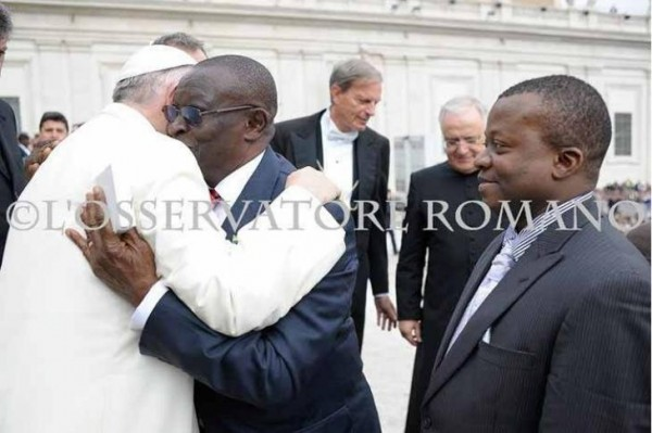 2 ministers meet pope 2