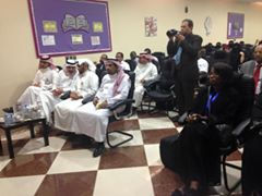 Attendees of the Accreditation Ceremony