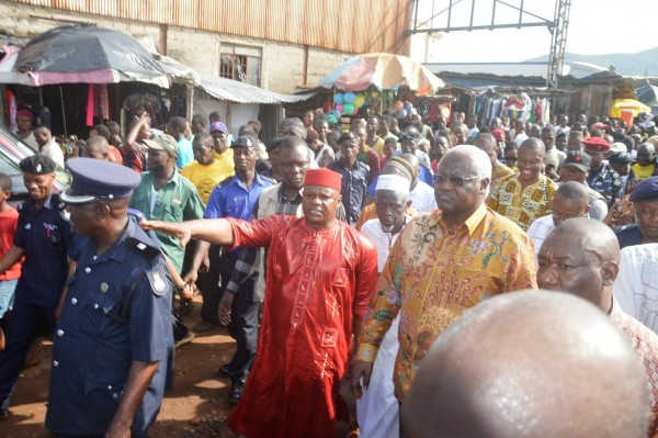 PREZZO INSPECTS FLOOD HOUSING 1
