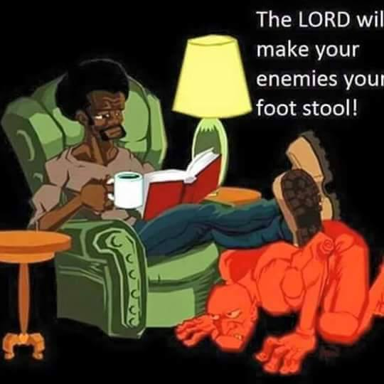 YOUR FOOTSTOOL