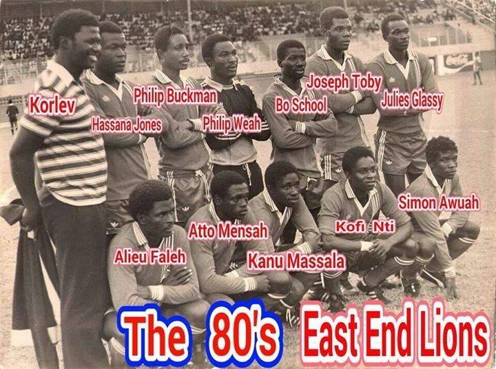 EAST END LIONS 1980S