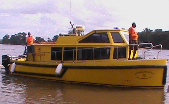 AMBULANCE BOAT 1