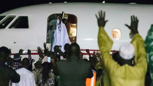 JAMMEH LEAVES
