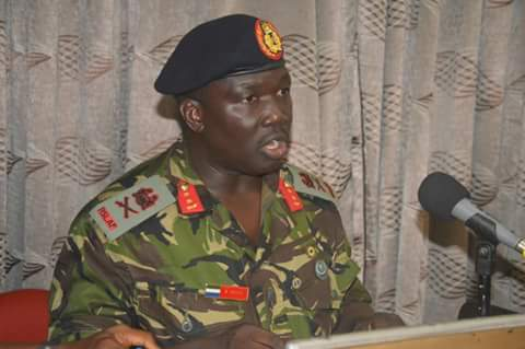 MAJOR GENERAL BRIMA SESAY
