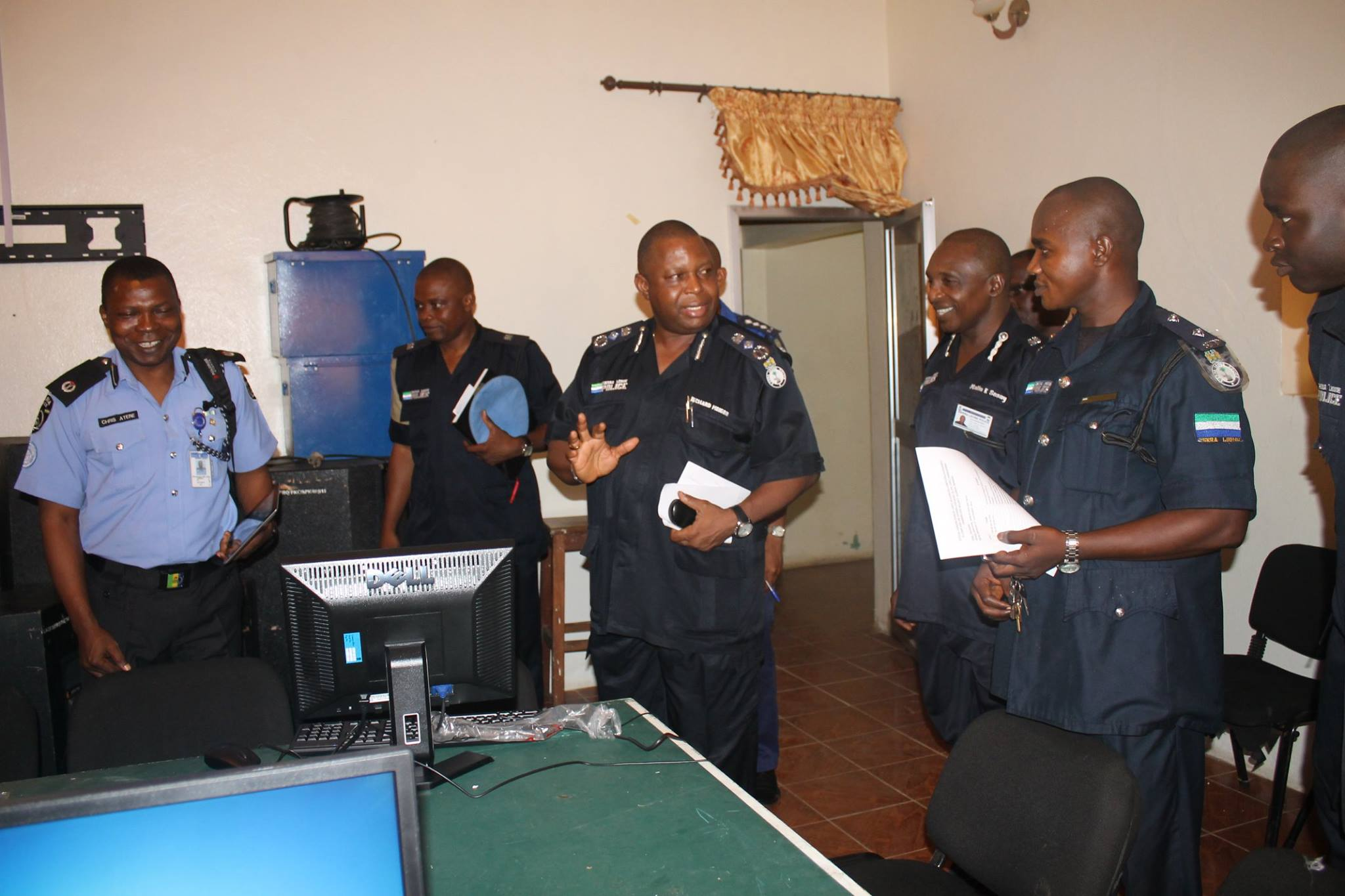 MOIGBE ADDRESSING POLICE 2