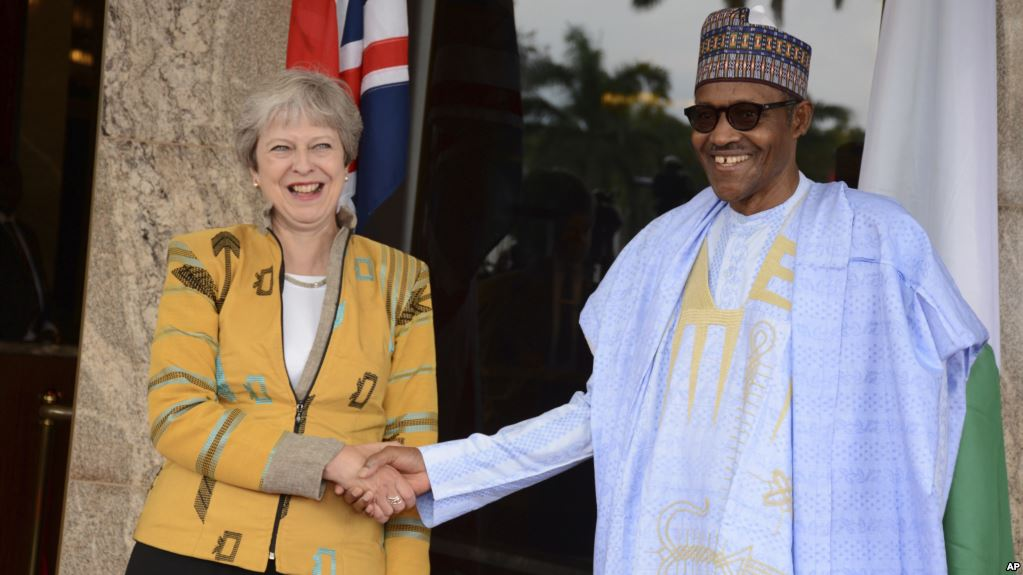 BUHARI WELCOMES MAY