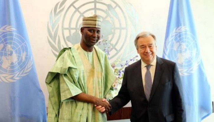 NEW UNGA PRESIDENT AND SG